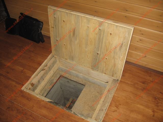 люк в деревянном полу своими руками
